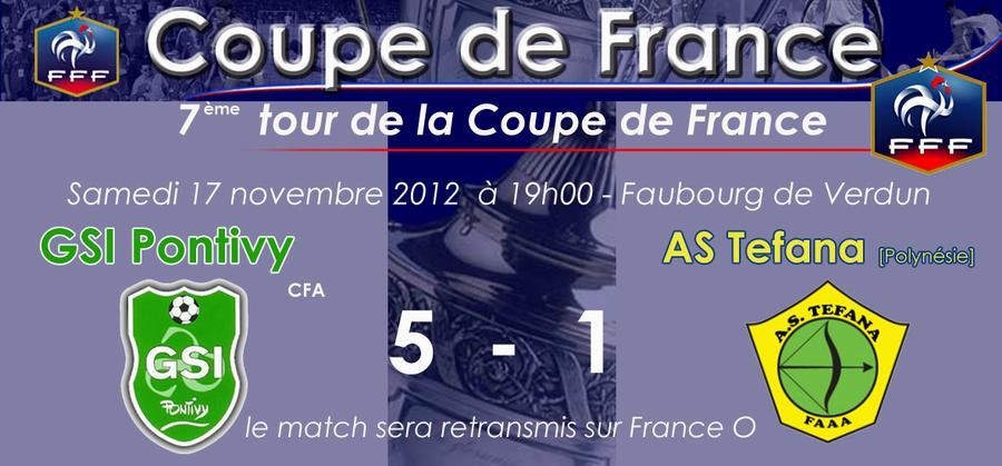 rencontres coupe de france 2012