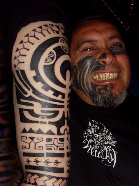 Tahiti En France Chime Tattoo
