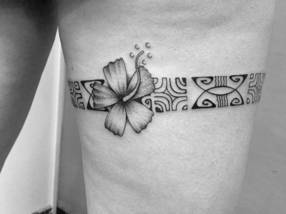 Tahiti En France Tattoo Nui